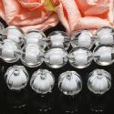 Beads, Pumpkin Shape, Acrylic, Colourless, Pumpkin Shape, Diameter 12mm, 16g, 20 Beads, [SLZ0565]